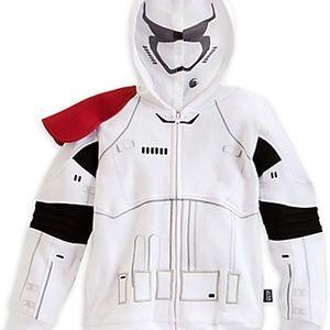 Disney Starwars Stormtrooper Hoodie with eyemask
